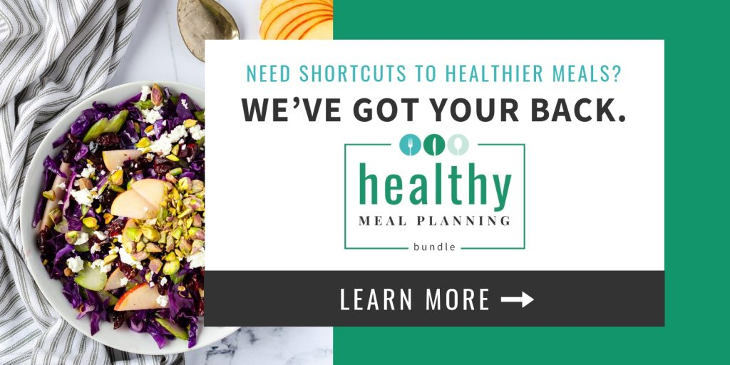 Healthy Meal Planning Bundle 2019 - Evergreen